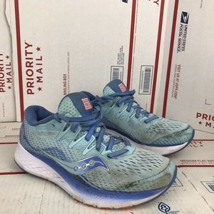 Saucony Womens Ride Iso 2 Sneakers S10514-1 Sz 7.5